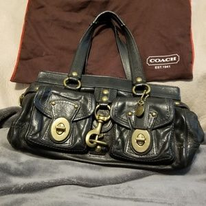 Coach Leather Purse & Coach dust cover